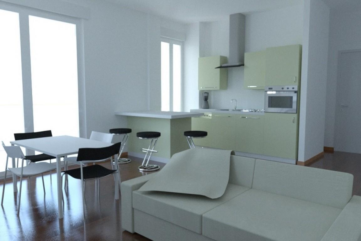 Arredare soggiorno con angolo cottura trendy stunning for Arredare soggiorno con angolo cottura